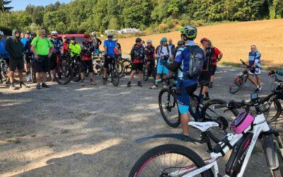 1. B4b MTB-Odenwaldtour ist voller Erfolg